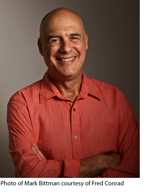 mark bittman man v meat As the spokesperson in the ted talk, mark batman: what's wrong with what we eat, blatant expresses his once about negative ecological and health impacts of our current food regimen - mark.